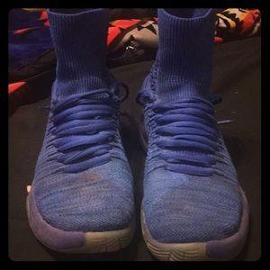 Blue Nike Zooms